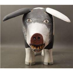 NAVAJO INDIAN FOLK ART PIG (ALONZO JIMNEZ)