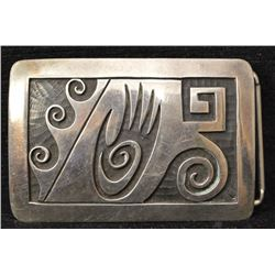 HOPI INDIAN BUCKLE (TERRY WADSWORTH)