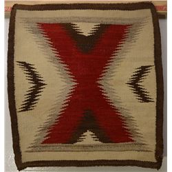 NAVAJO INDIAN SADDLE BLANKET