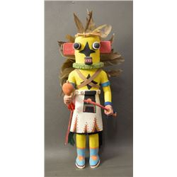 HOPI INDIAN KACHINA ( OSWARLD WHITE BEAR FREDRICKS)