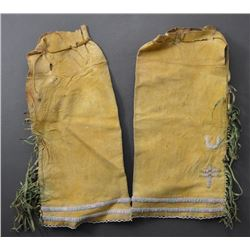SOUTHERN PLAINS INDIAN WOMAN'S LEGGINGS