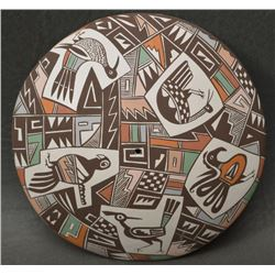 ACOMA INDIAN POTTERY SEED JAR ((DIANE LEWIS)