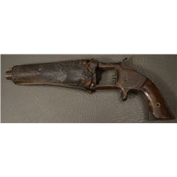 ANTIQUE SMITH AND WESSON PISTOL (NON FUNCTIONAL)