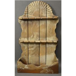NEW MEXICAN WOODEN SPOON RACK