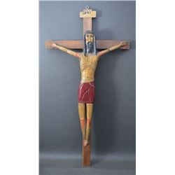 MEXICAN WOODEN CHRISTO