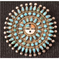 ZUNI INDIAN PIN