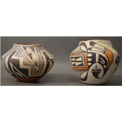 ACOMA INDIAN POTTERY JARS