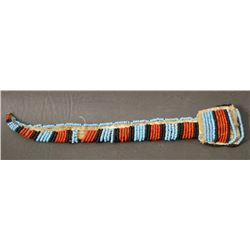 SIOUX INDIAN BEADED AWL CASE