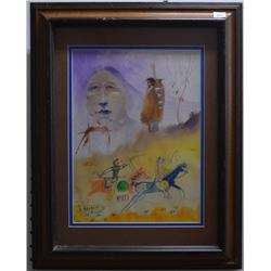 NAVAJO INDIAN PAINTING (BENALLY)