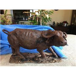 Water Buffalo Carving