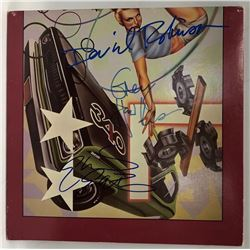 """Signed Cars """"Heartbeat City"""" Album Cover"""