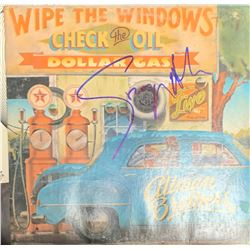 Signed Allman Brothers Wipe the Windows, Check the Oil, Dollar Gas Album Cover