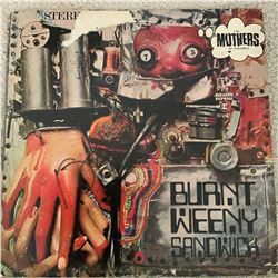 Signed Mothers of Invention Burnt Weeny Sandwich Album Cover