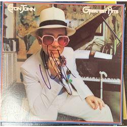 Signed Elton John, Greatest Hits Album Cover