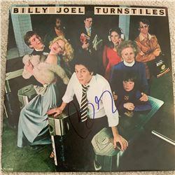 Signed Billy Joel, Turnstiles Album Cover