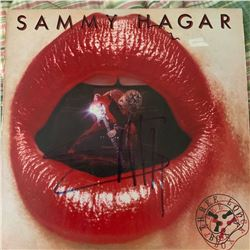 Signed Sammy Hagar, Three Lock Box Album Cover
