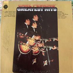 Signed Carl Perkins Carl Perkins Greatest Hits Album Cover