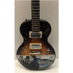 Signed U2 Signed Acoustic Guitar