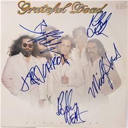 Signed Grateful Dead Go To Heaven Album Cover