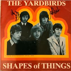 Signed The YardBirds, Shapes Of Things Album Cover