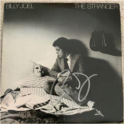 Signed Billy Joel The Stranger Album Cover