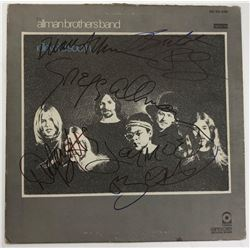 """Signed Allman Brothers Band """"Idlewild South"""" Album Cover"""