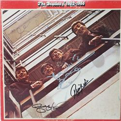 The Beatles Signed 1962-1966 Album Cover