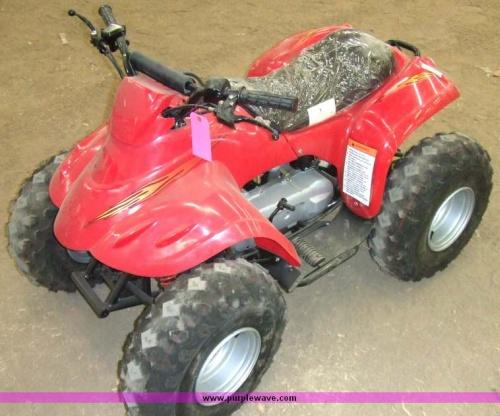 APC red ATV 50cc, electric start