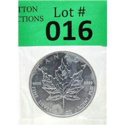 1 Oz .9999 Fine Silver 2011 Canada Maple Leaf Coin
