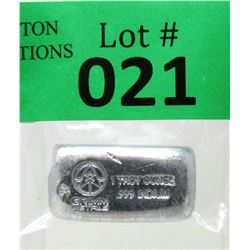 1 Oz. Grimm Metals .999 Fine Indium Loaf Bar