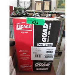 Case of LePage Window, Door & Siding Sealant