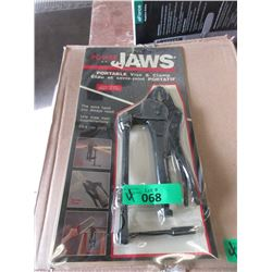 4 New Power Jaw Vice Clamps