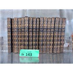 "16 Volume Set of ""The Works of Jeffery Farnol"""