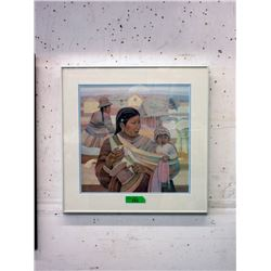 "Mario Cespedes Framed Print - 22"" x 22"""