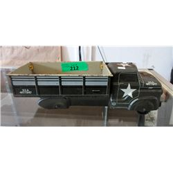 1950s Marx US Army Transport Lithograph Truck