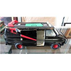 """1980s Ertl Pressed Steel """"The A-Team"""" Van #1324"""
