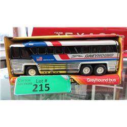 1980s Collectors Lithographed Tin Greyhound Bus
