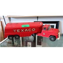 1950s Buddy L Texaco Oil Tanker Truck