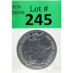 1 Oz UK Mint Britannia .999 Silver Coin