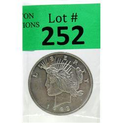 1 Oz Vintage Lady Liberty .999 Silver Round
