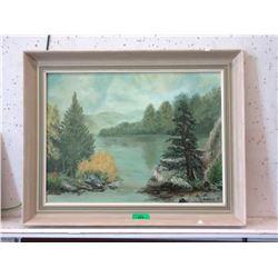 1977 N. Boreyko Oil on Canvas Landscape