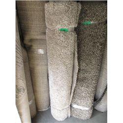 Ivory Shag Area Carpet - 5 Feet x 7 Feet