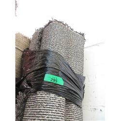 Charcoal Grey Shag Area Carpet - 8 Feet x 10 Feet