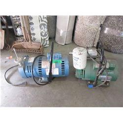 Motor and Bullard EDP10 Pump