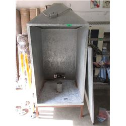 Large 8 Foot Tall Electric Smoker with Door