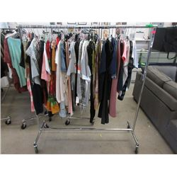 Rack of Assorted New Clothing - Rack Not Included