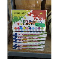 15 New DIY Paint by Numbers Kits