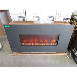 """Dynasty 50"""" Wall Mount Electric Fireplace"""