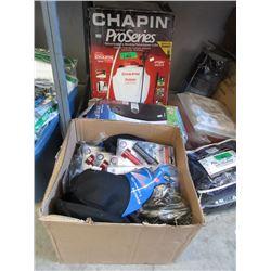 Backpack Sprayer & Heater + New Caps & Flashlights