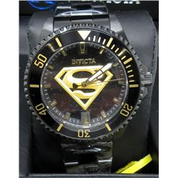 Men's New Invicta 17 Jewel Superman Watch